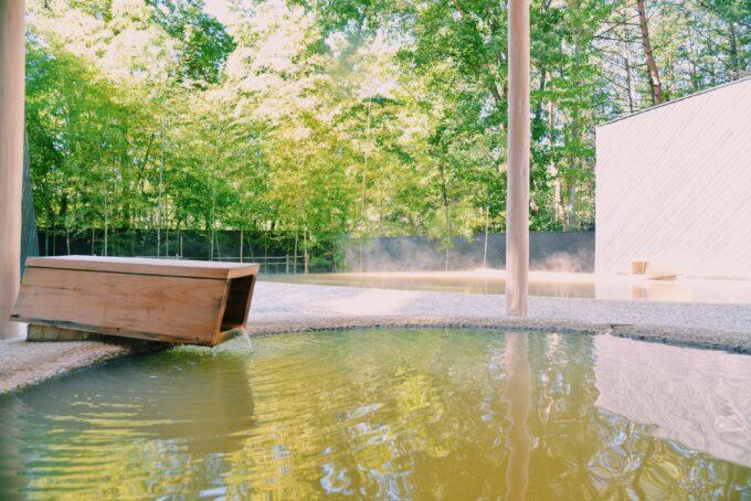 ホテルキーフォレスト北杜の露天風呂