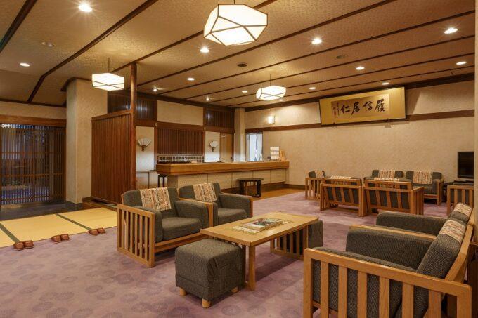松田屋ホテルのロビー