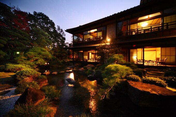 松田屋ホテルの日本庭園