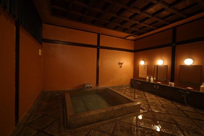 松田屋ホテルの維新の湯