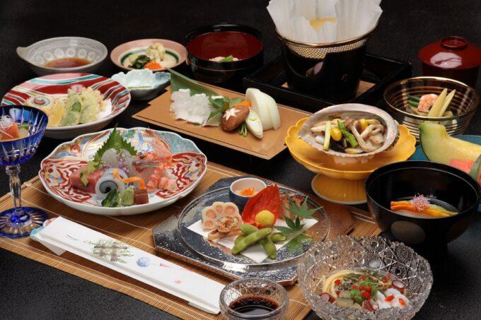 松田屋ホテルの夕食