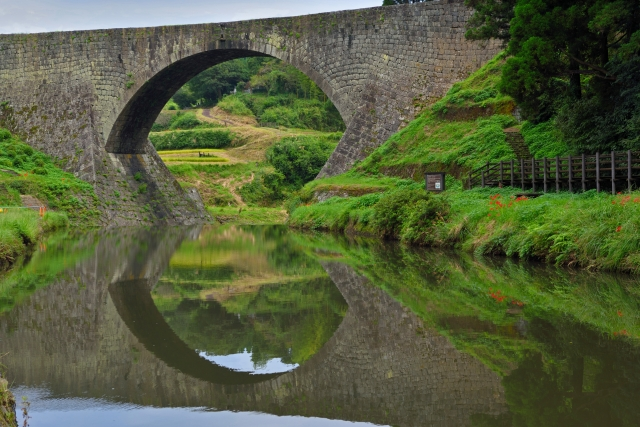 山都町の通潤橋