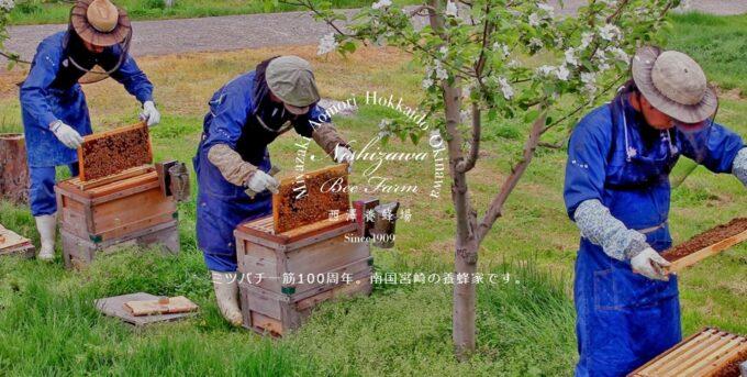 西澤養蜂場のはちみつ