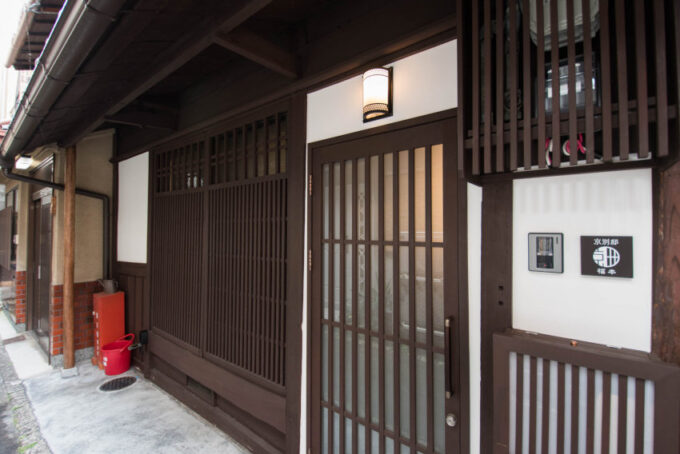 京別邸福本の外観
