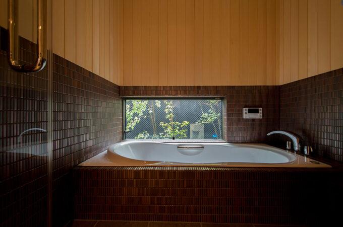 京別邸二条松栄庵の浴室