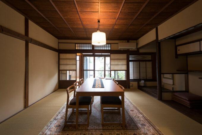 京別邸吉田の和室