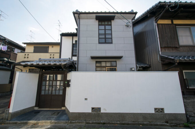 京別邸吉田の外観