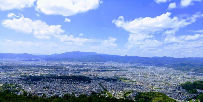 吉田山からの展望
