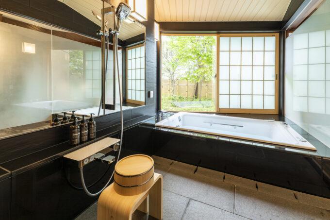 ホテル雅叙園東京のジャパニーズの浴室
