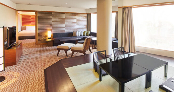 ホテル雅叙園東京のジャパニーズモダン120㎡