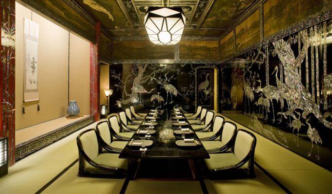 ホテル雅叙園東京-「渡風亭」の個室