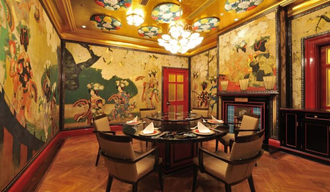ホテル雅叙園東京-中国料理「旬遊紀」の個室