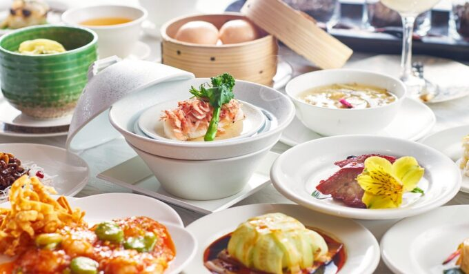 ホテル雅叙園東京-中国料理「旬遊紀」の料理