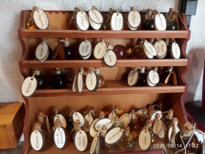 さまざまな種類の香水