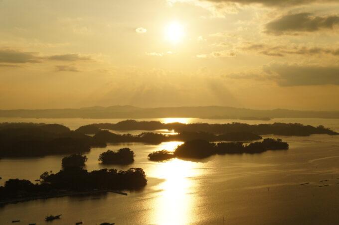 東松島の日の出